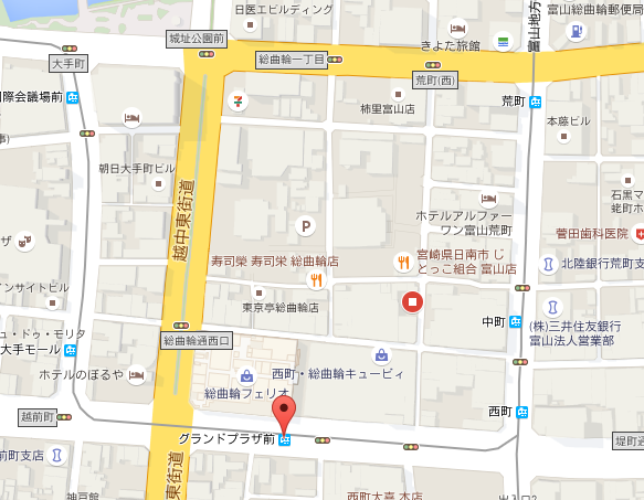 總曲輪商店街