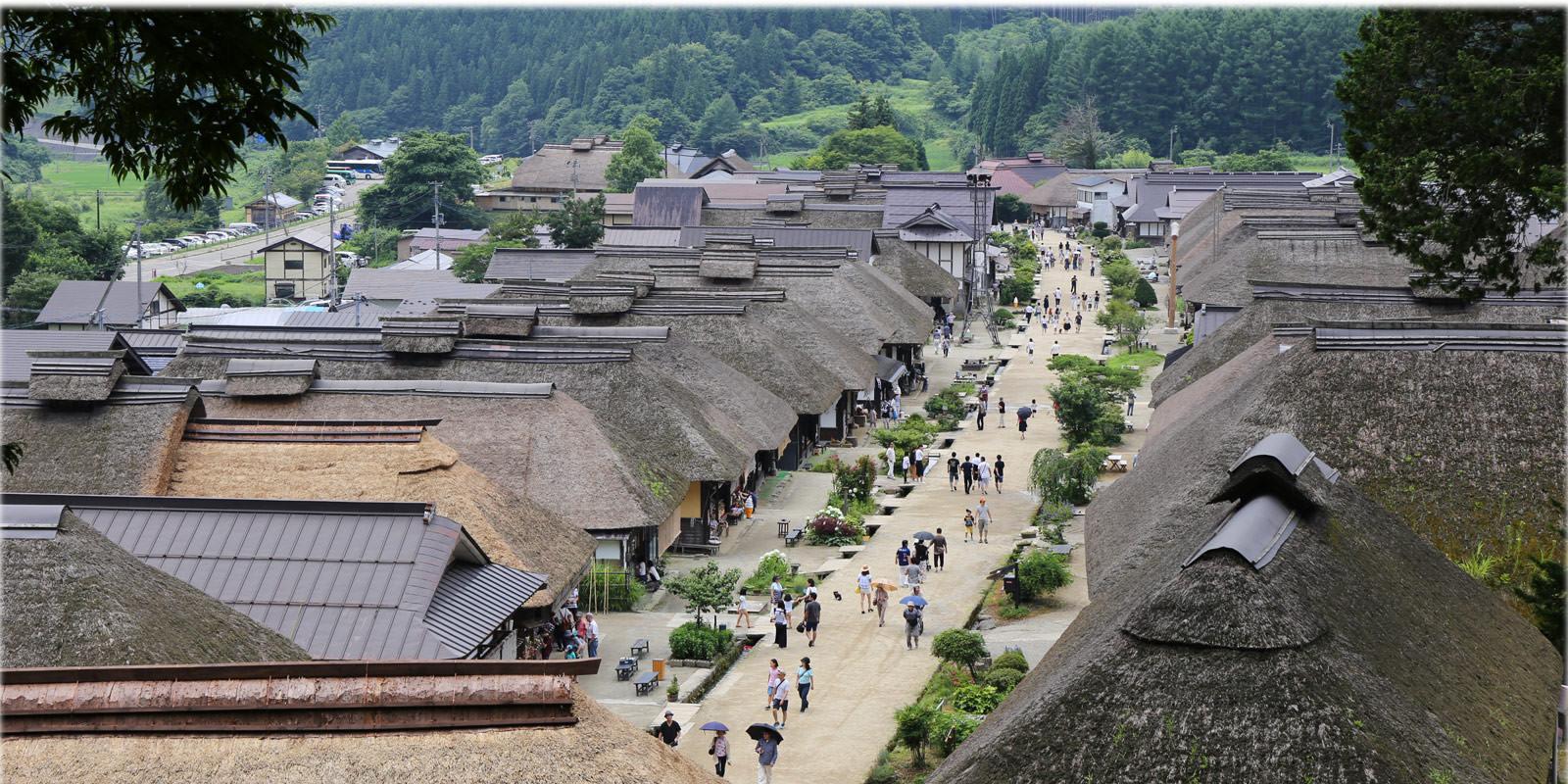 夏之福島旅:大內宿散策&吃大蔥蕎麥麵超過癮!