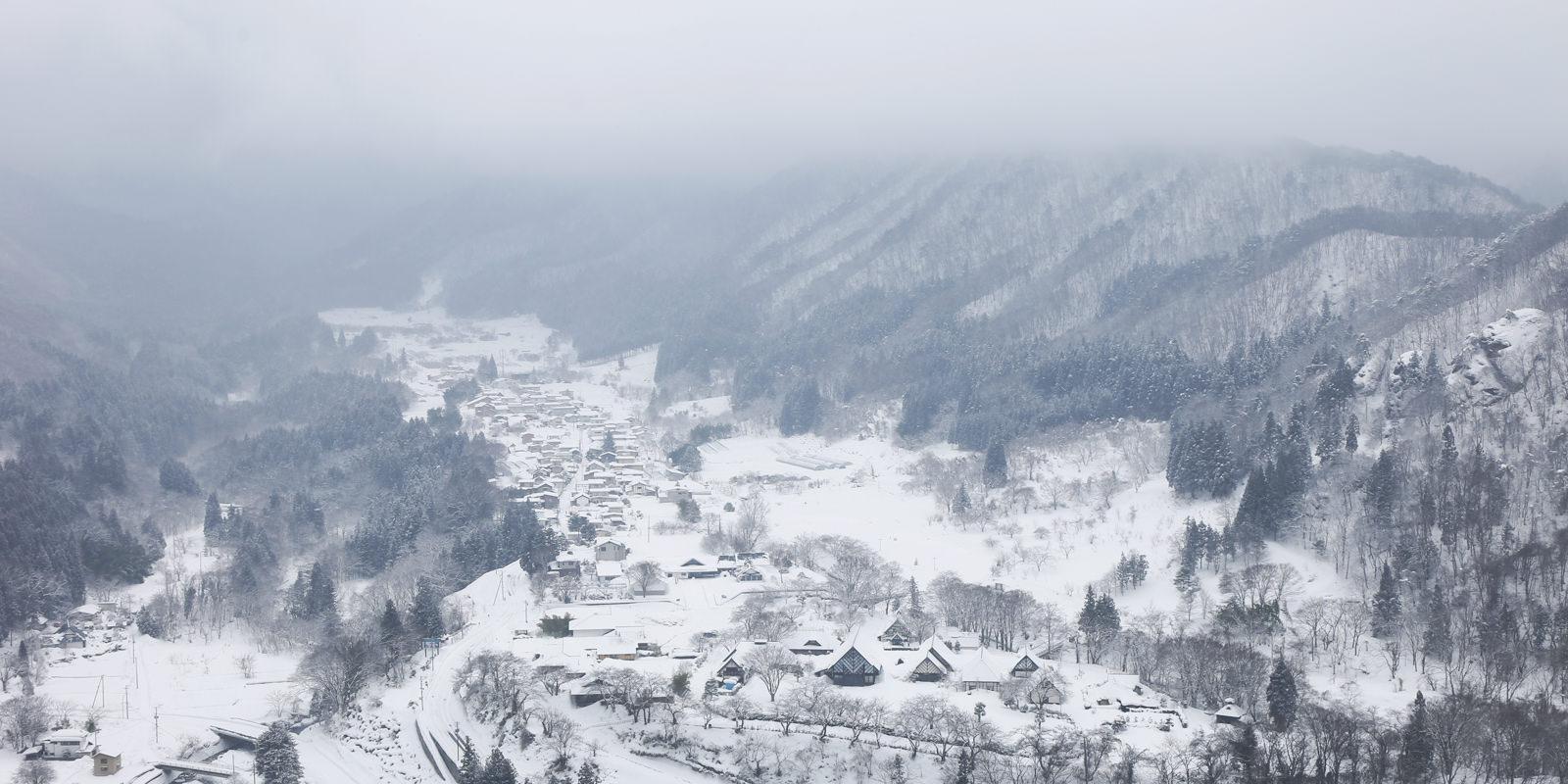 2018 春節東北賞雪☃圓夢の旅:如水墨畫般的雪之山寺