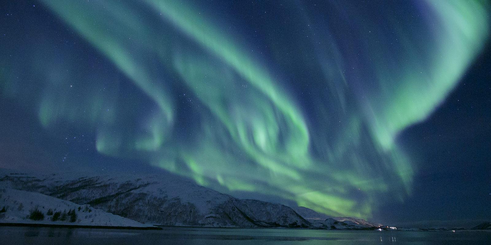 2019 挪威極光❄人生第一眼歐若拉@峽灣小木屋❤極光真的大爆發啦!